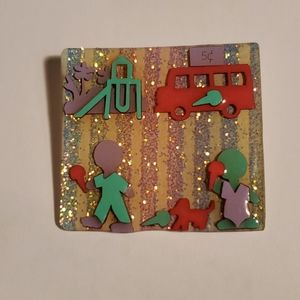 Lucinda Little People Collection Brooch